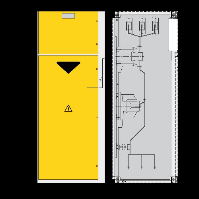 DRIESCHER LDTM Messfeld typgeprüft nach IEC 62271-200