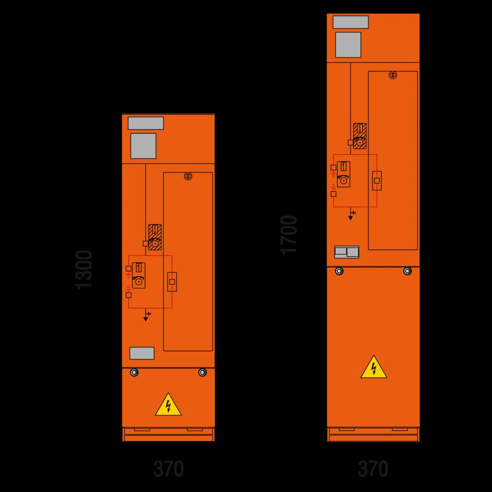 DRIESCHER MINEX SF6-isolierte Mittelspannungs-Schaltanlagen in Kompaktbauweise