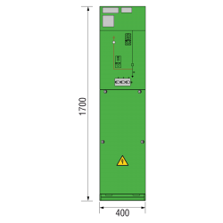 12 kV Kabelfeld 400 x 1700 mm