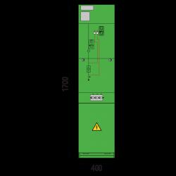 17,5 kV Trafofeld 400 x 1700 mm