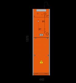 24 kV Kabelfeld 440 x 1700 mm