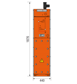 36 kV Kabelfeld 440 x 1876 mm