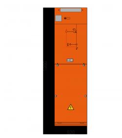 12 kV Kabelfeld 520 x 1900 mm