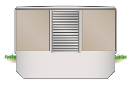 Beton-Kompaktstationen Typ BSP