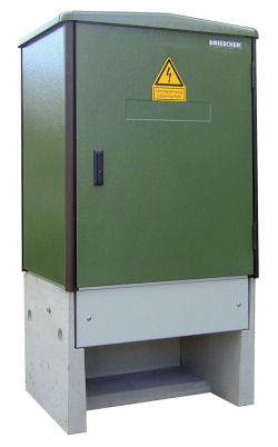 Kunststoff-Kompaktstationen Typ KSC