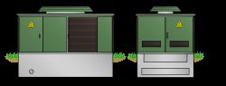 Kunststoff-Kompaktstation KSP2136