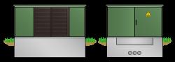 Kunststoff-Kompaktstation KSP2532