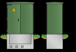 Kunststoff-Kompaktstation KST1118