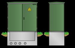 Kunststoff-Kompaktstation KST1121