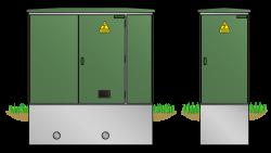 Kunststoff-Kompaktstation KST1128