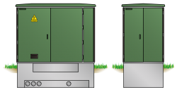 Kunststoff-Kompaktstation KST1428