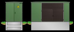 Kunststoff-Kompaktstation KST1841