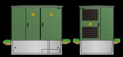 Begehbare Kunststoffstation KST2132