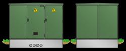 Begehbare Kunststoffstation KST2532