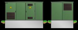 Kunststoff-Kompaktstation KST2543