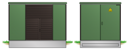 Kunststoff-Kompaktstation KST2841