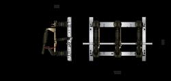 Freiluft-Lasttrennschalter LDFT(P) 12/400