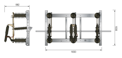 Freiluft-Lasttrennschalter LDFT(P) 36/400