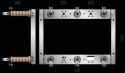 3-poliger Innenraum-Sicherungsträger