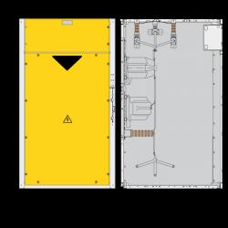 36 kV Messfeld 1300 x 1380
