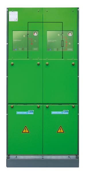 SF6-isolierte Schaltanlagen Typ iSA