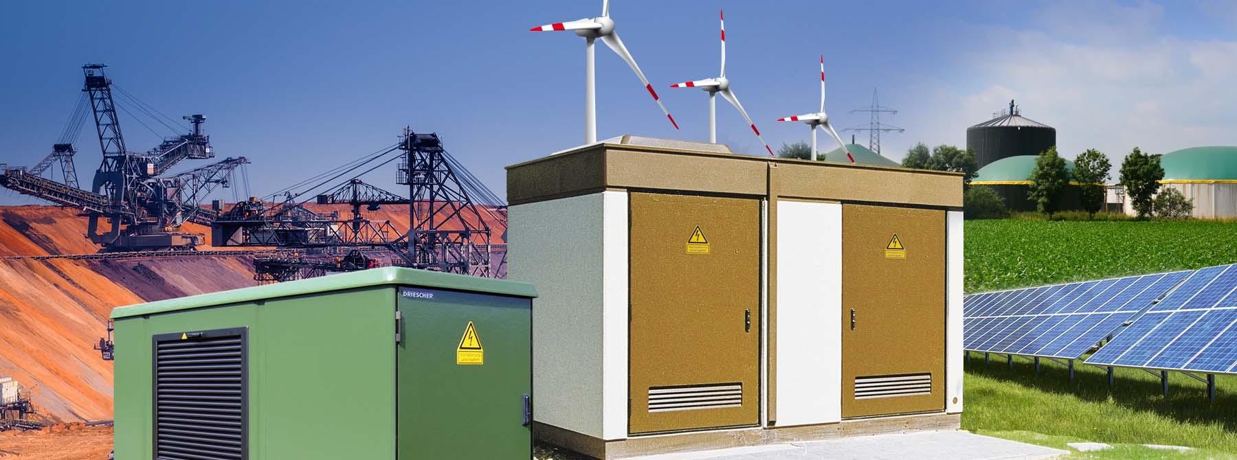 Kompaktstationen für den Einsatz in verschiedensten Bereichen.