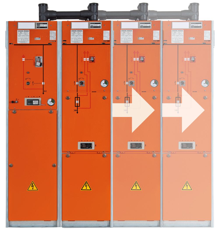 MINEX-F ABS: Das schlanke Baukastensystem.<br /> Unbegrenzt kombinierbar.