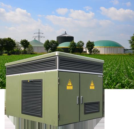 DRIESCHER Biogasstationen