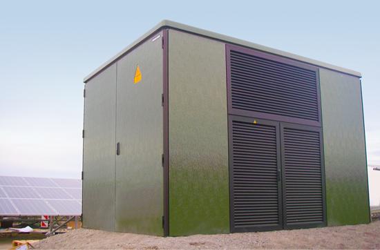 DRIESCHER begehbare fabrikfertige Stationen mit Kunststoffgehäuse