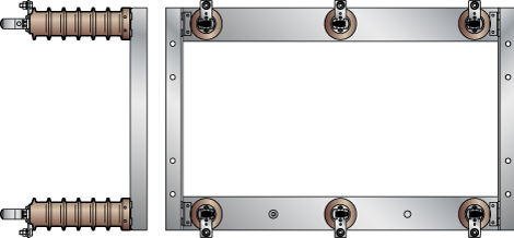 3-polige Innenraum-Sicherungsträger